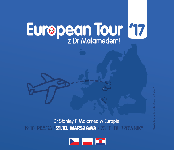Malamed, European Tour z Dr Malamedem, Warszawa, Intercontinental, Septodont, Akademia Septodont
